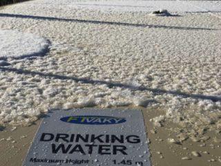 Konec zamrzání vody: flexibilní nádrže také v zimě