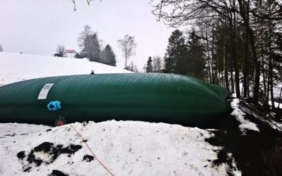 Vaky na vodu pro zasněžování pro SKI Benecko