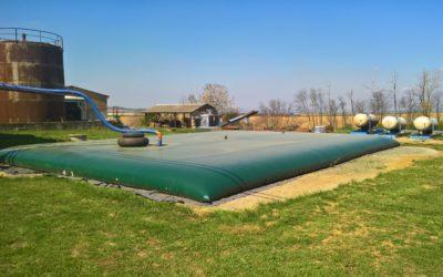 Vaky pro zemědělce na dešťovou vodu pro AGD Morkovice