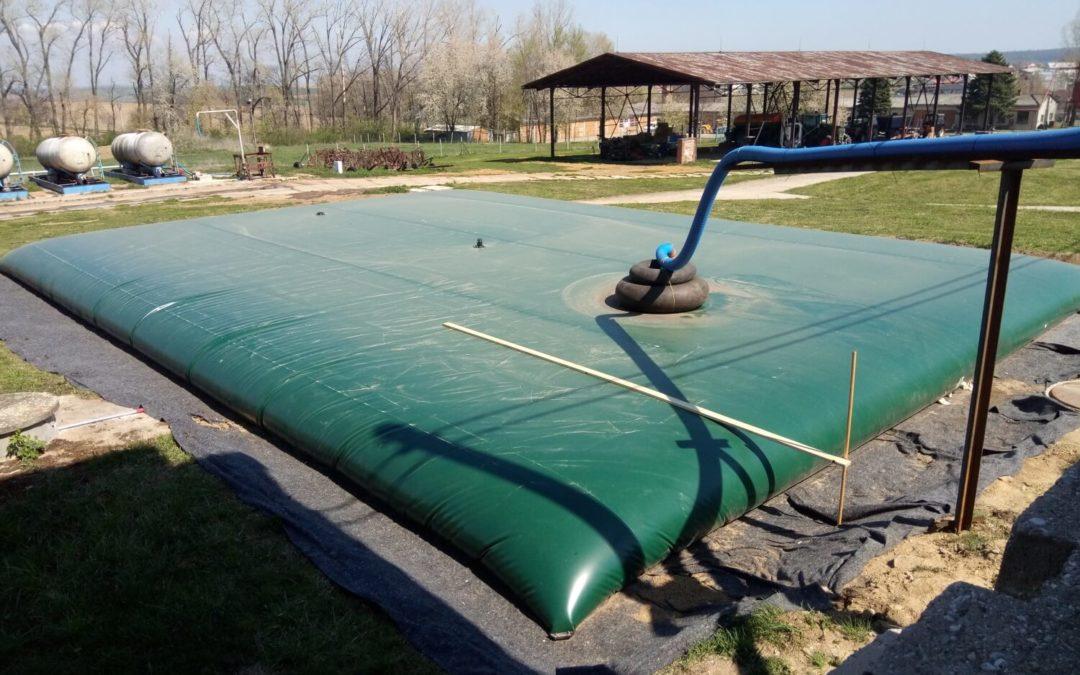 Druhý vak na dešťovou vodu pro AGD Morkovice