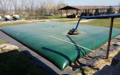 Druhý vak na dažďovú vodu pre AGD Morkovice