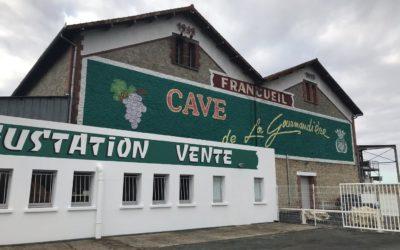 Vinárstvo vo Francúzsku používa vak na zber odpadovej vody